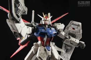 Aile Strike Gundam - O.M.N.I Enforcer Mobile Suit GAT-X105 Ver.RM 1/100 Master Grade